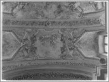 Kraków [Kościół pw. św. Anny – fragment sklepienia nawy głównej, sztukateria autorstwa Baltazara Fontany]
