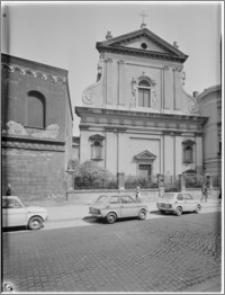 Kraków. Kościół ewangelicki św. Marcina. Elewacja zachodnia