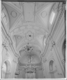 Kraków. Kościół ewangelicki św. Marcina. Wnętrze-sklepienie
