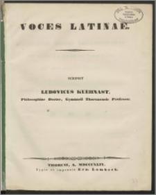 Voces Latinae