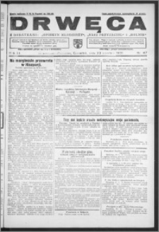 Drwęca 1931, R. 11, nr 47