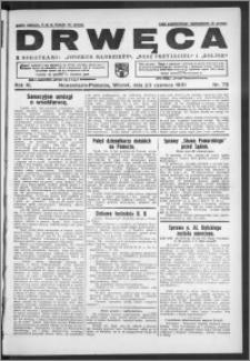 Drwęca 1931, R. 11, nr 72