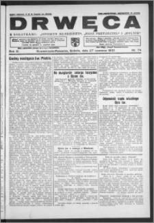 Drwęca 1931, R. 11, nr 74