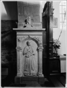 Czchów. Kościół pw. Narodzenia Najświętszej Maryi Panny. Nagrobek Magdaleny z Koczmerowskich Wielogłowskiej