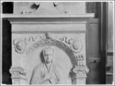 Czchów. Kościół pw. Narodzenia Najświętszej Maryi Panny. Nagrobek Magdaleny z Koczmerowskich Wielogłowskiej - fragment