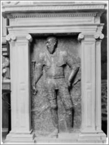 Czchów. Kościół pw. Narodzenia Najświętszej Maryi Panny. Nagrobek Kaspra Wielogłowskiego - fragment