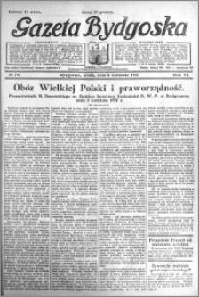 Gazeta Bydgoska 1927.04.06 R.6 nr 79
