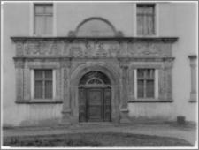 Chojnów. Zamek Piastowski. Portal główny