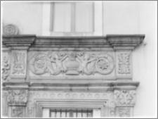 Chojnów. Zamek Piastowski. Portal główny - fragment
