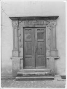 Chojnów. Zamek Piastowski. Portal boczny