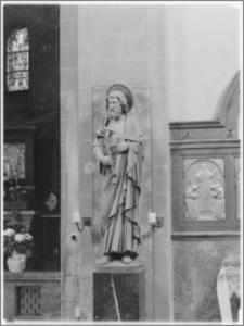 Chojnów. Kościół pw. Niepokalanego Poczęcia Najświętszej Marii Panny. Figura Św. Tomasza Apostoła
