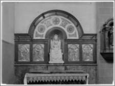 Chojnów. Kościół pw. Niepokalanego Poczęcia Najświętszej Marii Panny. Ołtarz boczny