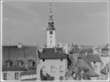 Chełmno. Widok na ratusz z kościoła franciszkanów św. Jakuba i św. Mikołaja