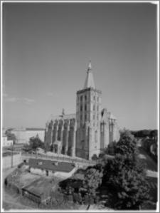 Chełmno. Fara-kościół Wniebowzięcia NMP. Widok od północnego zachodu