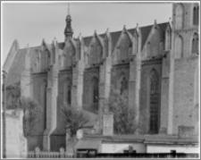 Chełmno. Fara-kościół Wniebowzięcia NMP. Elewacja północna