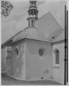 Chęciny. Kościół parafialny św. Bartłomieja Apostoła. Kaplica Fodygów-widok zewnętrzny
