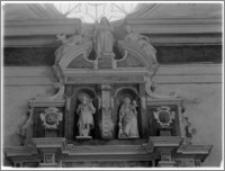 Chęciny. Kościół parafialny św. Bartłomieja Apostoła. Kaplica Fodygów-fragment ołtarza