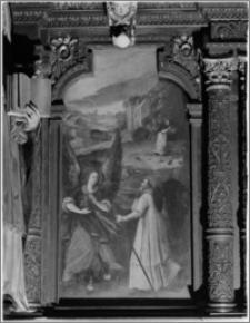 Kraków. Kościół pw. Bożego Ciała. Obraz w stellach