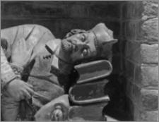 Kraków. Kościół pw. Bożego Ciała. Nagrobek błog. Stanisława Kaźmierczyka – fragment