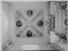 Kraków. Kościół pw. Bożego Ciała. Kaplica od strony północnej – sklepienie