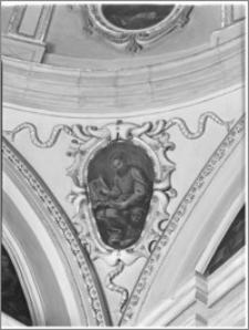 Kraków. Kościół pw. Bożego Ciała. Kaplica od strony południowej - fragment sklepienia