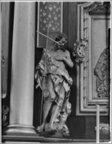 Kraków. Kościół pw. Bożego Ciała. Fragment ołtarza bocznego