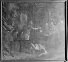 Kraków. Kościół pw. Bożego Ciała. Obraz w prezbiterium
