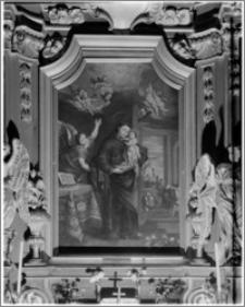 Kraków. Kościół pw. Św. Bernardyna. Obraz Św. Antoniego
