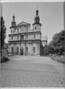 Kraków. Kościół pw. Św. Bernardyna. Elewacja wschodnia