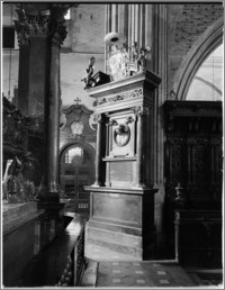 Kraków. Bazylika archikatedralna św. Stanisława i św. Wacława. Epitafium biskupa Jana Małachowskiego