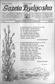 Gazeta Bydgoska 1927.04.17 R.6 nr 89
