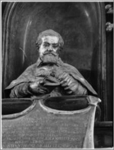 Kraków. Bazylika archikatedralna św. Stanisława i św. Wacława. Fragment nagrobka biskupa Piotra Gembickiego