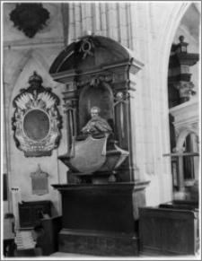Kraków. Bazylika archikatedralna św. Stanisława i św. Wacława. Nagrobek biskupa Piotra Gembickiego