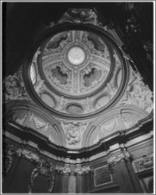 Kraków. Bazylika archikatedralna św. Stanisława i św. Wacława. Wnętrze. Kopuła Kaplicy Wazów (Psałterzystów, Pradocińskiej)