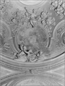 Kraków. Kościół dominikanów Św. Trójcy. Kaplica św. Jacka. Wnętrze-fragment sklepienia
