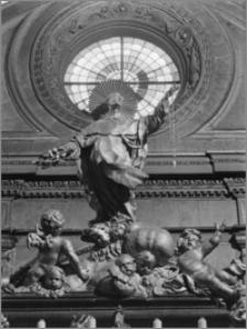Kraków. Kościół dominikanów Św. Trójcy. Kaplica św. Jacka. Wnętrze-konfesja św. Jacka-fragment