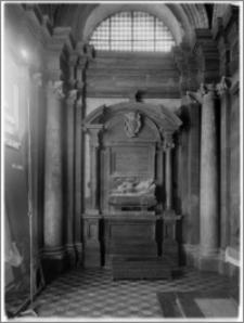 Kraków. Kościół dominikanów Św. Trójcy. Kaplicy Zbaraskich. Wnętrze-ściana zachodnia