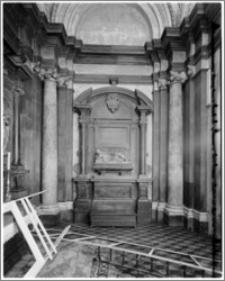 Kraków. Kościół dominikanów Św. Trójcy. Kaplicy Zbaraskich. Wnętrze-ściana wschodnia