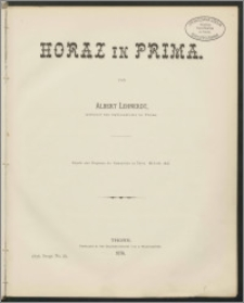 Horaz in Prima