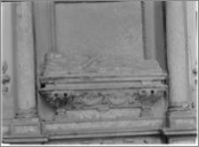Krosno. Kościół Nawiedzenia Najświętszej Maryi Panny. Nagrobek Jadwigi z Włodków Firlejowej - fragment