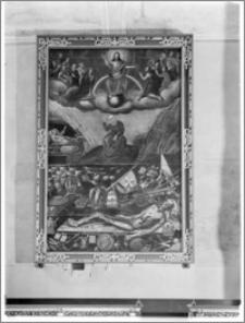 Krosno. Kościół pw. Trójcy Przenajświętszej. Obraz w nawie południowej