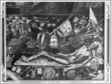 Krosno. Kościół pw. Trójcy Przenajświętszej. Obraz w nawie południowej - fragment