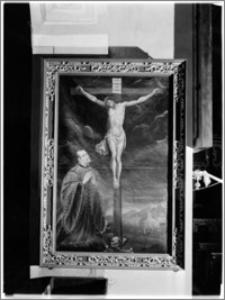 Krosno. Kościół pw. Trójcy Przenajświętszej. Obraz epitafijny