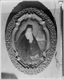 Krosno. Kościół pw. Trójcy Przenajświętszej. Obraz w prezbiterium