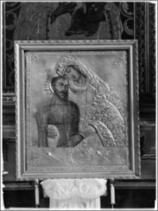 Krosno. Kościół pw. Trójcy Przenajświętszej. Obraz w ołtarzu nawy południowej