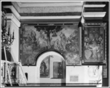 Krosno. Kościół pw. Trójcy Przenajświętszej. Obraz w nawie głównej