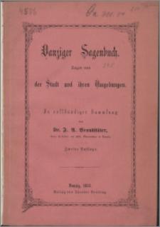 Danziger Sagenbuch : Sagen von der Stadt und ihren Umgebungen
