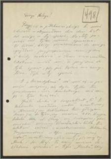 List Stanisława Kiałki z dnia 25 stycznia 1963 roku