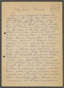 List Stanisława Kiałki z dnia 16 listopada 1963 roku