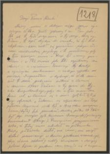 List Stanisława Kiałki z dnia 20 lutego 1968 roku